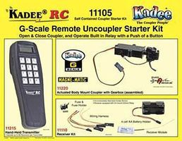 Kadee Self Contained Cplr StKit - G-Scale