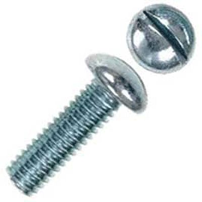 Kadee Quality Products 2-56 Round Head Stainless Steel Screws pkg(12) - 1/4'' -- Model Railroad Scratch Supply -- #1706