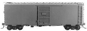 Kadee Pullman-Standard PS-1 40 Boxcar with 6 Door - Undecorated (Dark Tuscan) HO Scale #4000