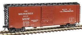 Kadee Pullman-Standard PS-1 40 Boxcar Milwaukee Road #8773 HO Scale Model Train Freight Car #4912