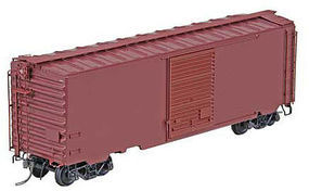 Kadee Undecorated 40 PS-1 Boxcar Post-1954 (Boxcar Red) HO Scale Model Freight Car #5200