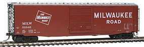 Kadee 50 Boxcar Milwaukee Road #52045 HO Scale Model Train Freight Car #6368