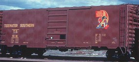 Kadee PS-1 50 Boxcar w/8 Door - Ready to Run Tidewater Southern #516 (Built 1955, Factory New, Boxcar Red)