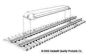 Kadee Quality Products Magne-Matic(R) Uncoupler - Delayed HOn3 (2) -- HO Scale Model Train Coupler -- #709