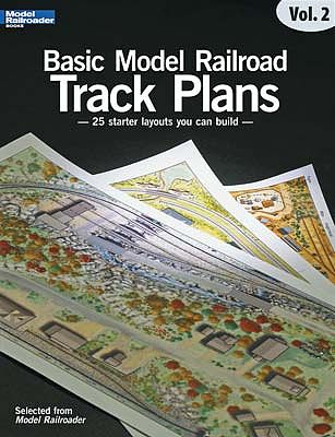Kalmbach Startr Track Plans for Model Railroaders -- Model Railroad Book -- #12466