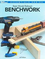 Kalmbach Basic Model Railroad Benchwork 2nd Edition Model Railroad Book #12469