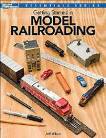 Kalmbach Getting Started In Model Railroading Model Railroad Book #12495