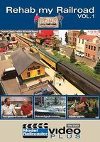 Kalmbach Rehab My Railroad Vol 1 DVD Model Railroading DVD #15307