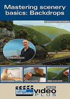 Kalmbach Mastering Scenery Backdrop DVD Model Railroading DVD #15309