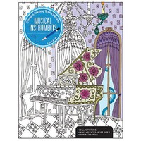 Kalmbach MUSICAL INSTRUMENT Coloring Bk