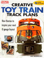Kalmbach Creative Toy Train Track Plans Model Railroad Book #8350