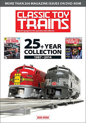 Kalmbach Publishing Classic Toy Trains Archiv -- Model Railroading Video DVD -- #15105