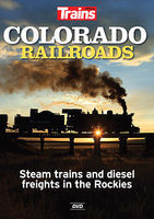 Kalmbach Trains DVD Colorado Railroads