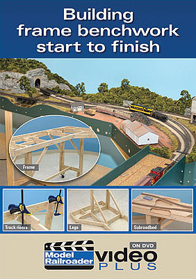 Kalmbach Publishing Building Frame Railroad BenchWork DVD -- Model Railroading Video -- #15300