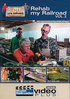 Kalmbach Rehab My Railroad DVD