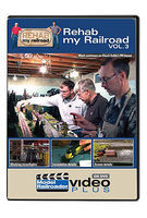 Kalmbach Rehab My Railroad - Model Railroader Video Plus Volume 3, 90 Minutes