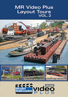 Kalmbach Model Railroader Video Plus DVD Layout Tours Volume 2