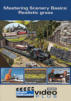 Kalmbach Model Railroader Video Plus DVD Mastering Scenery Basics-Realistic Grass
