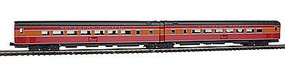 Kato Streamlined Pullman-Standard Articulated Coach N Scale Model Train Passenger Car #1066307