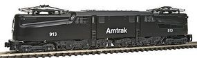 Kato GG1 Electric Standard DC Amtrak #913 (black) N Scale Model Train Electric Locomotive #1372021