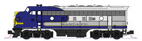 Kato EMD F7A ATSF Bonnet #325 N Scale Model Train Diesel Locomotive #1762126