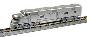 Kato EMD E5A Chicago, Burlington & Quincy #9910A N Scale Model Train Diesel Locomotive #1765401