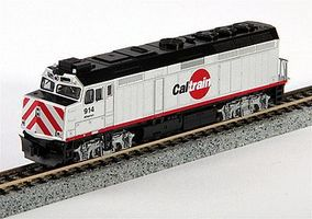 Kato EMD F40PH Commuter Version Caltrain #914 N Scale Model Train Diesel Locomotive #1769004