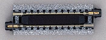 Kato USA Inc Magnetic Uncoupler Track - Unitrack - 2-1/2'' -- N Scale Nickel Silver Model Train Track -- #20032