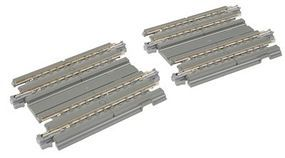 Kato Straight Double Concrete Slab Track - Unitrack N Scale Nickel Silver Model Train Track #20044