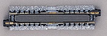 Kato USA Inc Straight Roadbed Expansion Unitrack -- N Scale Nickel Silver Model Train Track -- #20050