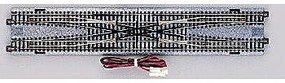 Kato Electric (Remote) Double Crossover - Unitrack N Scale Nickel Silver Model Train Track #20210