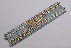 Kato Double Track Crossover Left N Scale Nickel Silver Model Train Track #20230