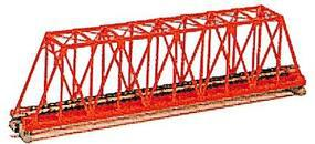 Kato Single Truss Bridge - 248mm (9.75), Red N Scale Model Railroad Bridge #20430