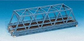Kato Double-Track Truss Bridge - 9.75 24.8cm (light blue) N Scale Model Railroad Bridge #20436
