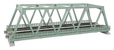 Kato USA Inc Double-Track Truss Bridge (9-3/4'' 24.8cm) -- N Scale Model Railroad Bridge -- #20439