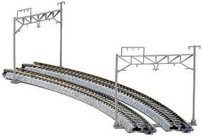 Kato Double Track Cantenary Poles & Accy. (8) N Scale Model Roalroad Trackside Accessory #23060