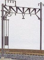 Kato Double Track Cantenary Poles & Accy. (10) N Scale Model Roalroad Trackside Accessory #23061