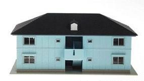 Kato Gilbert Gardens Apartment N Scale Model Railroad Building #23402