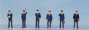 Kato Japanese Railroad Personnel - Station Attendants (6) N Scale Model Railroad Figure #24202