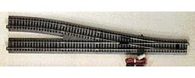 Kato Unitrack Powered Turnout #6 Right Hand 19-3/8 HO Scale Nickel Silver Model Train Track #2861