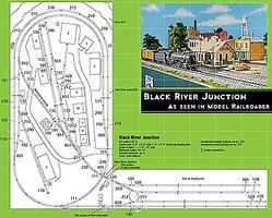 Kato Black River Junction Layout Track Set Unitrack HO Scale Nickel Silver Model Train Track #30680