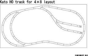 Kato Worlds Greatest Hobby Track Pack - Unitrack HO Scale Nickel Silver Model Train Track #3103