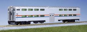 Kato Pullman Bi-Level 4-Window Cab-Coach Amtrak HO Scale Model Train Passenger Car #356021