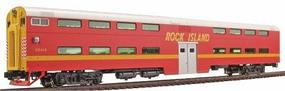 Kato Pullman Bi-Level 4-Window Cab-Coach Rock Island HO Scale Model Train Passenger Car #356024