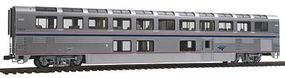 Kato Superliner I Lounge Amtrak #33019 (Phase IVb) HO Scale Model Train Passenger Car #356063