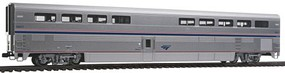 Kato Superliner I Diner - Ready to Run Amtrak 38021 (Phase IV, silver, blue, red)