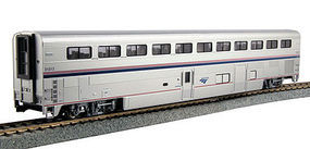 Kato Superliner I Coach-Baggage Amtrak #31013 HO Scale Model Train Passenger Car #356092