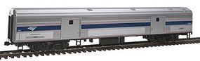 Kato Budd 73 Baggage - Ready to Run - Amtrak #1221 HO Scale Model Train Passenger Car #356202