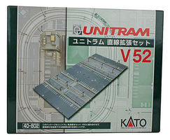 Kato V52 Unitram Double Street Expansion N Scale Model Railroad Road Accessory #40802