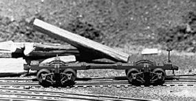 Keystone Climax Log Car Kit - HO-Scale
